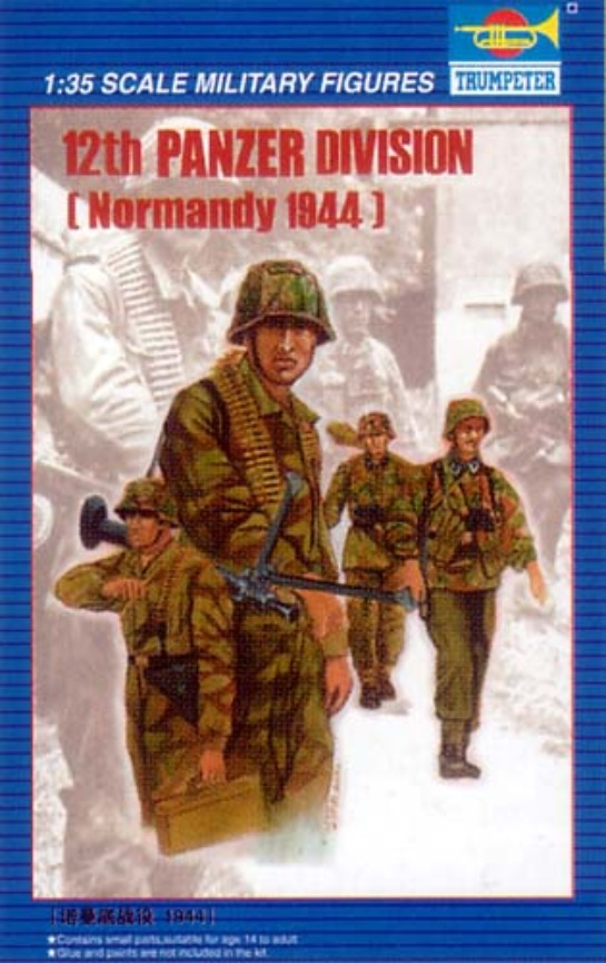00401 12th Waffen SS Division Normandy