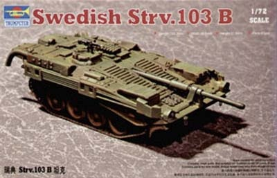 07248 Swedish STRV 103B Main Battle Tank