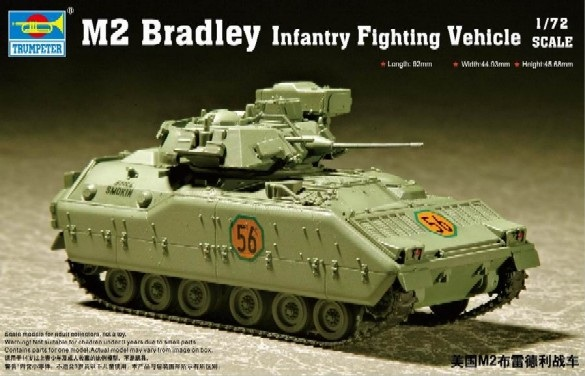 07295 M2 Bradley Infantry fighting