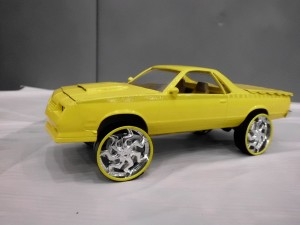 1986 Custom Chevy El Camino By: Terrell Whitfield