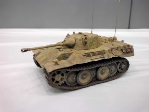 WWII German Leopard tank  By: Steve Bacon