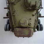 Top of weathered M-47 turret