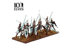 10 Spearmen Troop Elves: Kings of War
