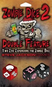 Expansion for Zombie Dice: Steve Jackson Games