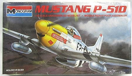 North American P-51D Mustang: Monogram