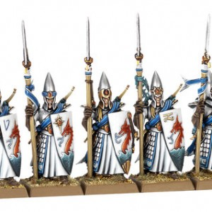 High Elf Lothern Sea Guard painting Set