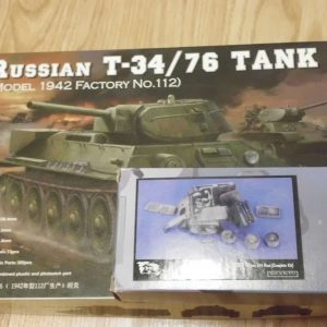 Russian T-34 and set